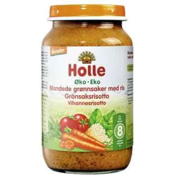 HOLLE Risotto risotto with vegetables - after 8 months BIO 220g