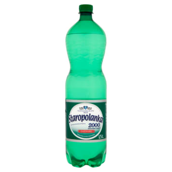 STAROPOLANKA 2000 Highly mineralized carbonated mineral water 1.5l