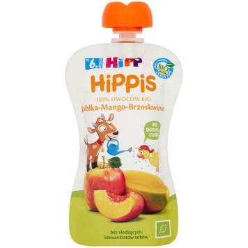 HIPP HiPPiS Apples-Mango-Peaches Fruit mousse after 6 months 100g