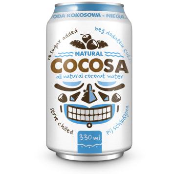 COCOLA Woda kokosowa naturalna 330ml