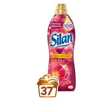 SILAN Aromatheraphy Fabric softener Rose Oil and Peony 1.85 l