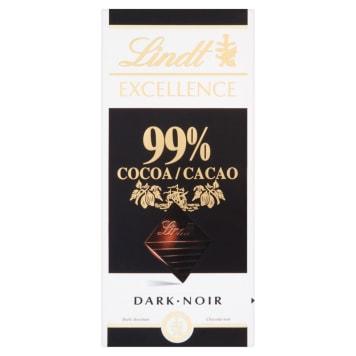 LINDT EXCELLENCE Czekolada ciemna 99% Cocoa 50g