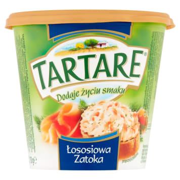 Serek twarogowy Łososiowa Zatoka Tartare- lekki i puszysty serek o bogatym i niepowtarzalnym smaku.