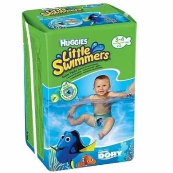 HUGGIES Little Swimmers Huggies 12 szt Little Swimmers size 3-4 1pc