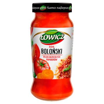 Łowicz - Sos boloński 520 g. Syzbki sposb na pyszne danie.