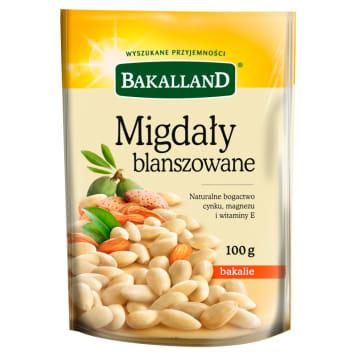 Migdały blanszowane - Bakalland