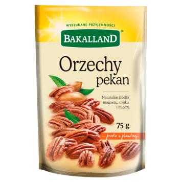 Bakalland - Orzechy pecan. Doskonała przekąska między posiłkami.