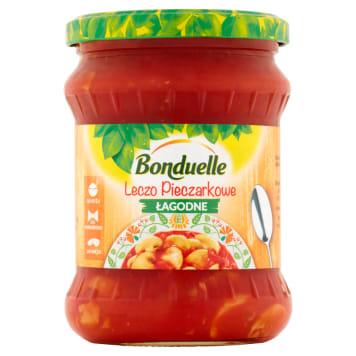 Bonduelle- Łagodne leczo pieczrakowe 500 ml. Szybki sposób na pożywny posiłek.