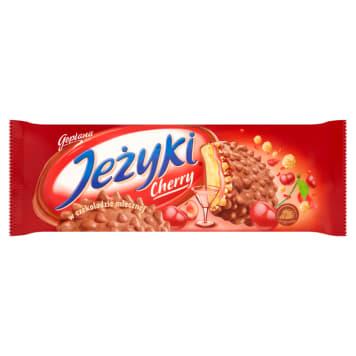 Ciasteczka Jeżyki - Jutrzenka. Pyszna, słodka przekąska.