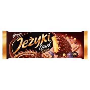 Ciasteczka Jeżyki znane są każdemu. Pokryte karmelem i czekoladą herbatniki przyjemnie chrupią.