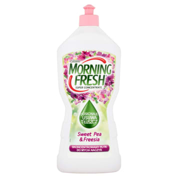 MORNING FRESH SUPER CONCENTRATE Dish soap Sweet Pea&Freesia 900 ml