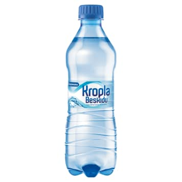 Kropla Beskidu - Naturalna woda mineralna gazowana. Woda z najlepszych źródeł w Europie.