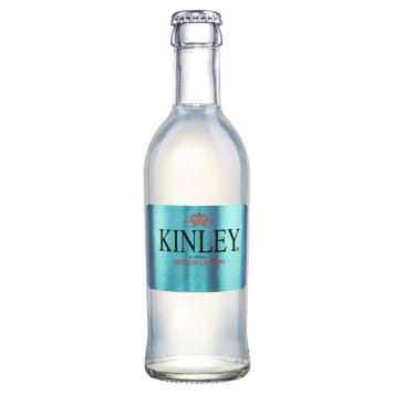KINLEY Carbonated drink with Bitter Lemon flavor 250 ml