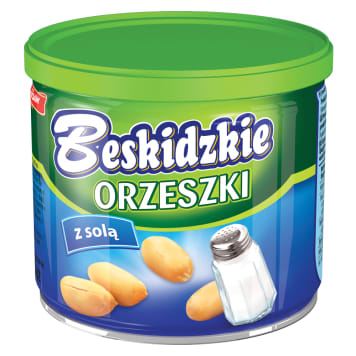 BESKIDZKIE Nuts with canned salt 140 g
