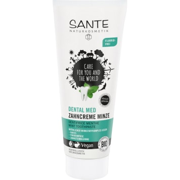 SANTE Toothpaste mint with sage and fluorine-free xylitol BIO 75ml