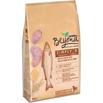 PURINA BEYOND Simply 9 Dog food rich in salmon and oats 3kg