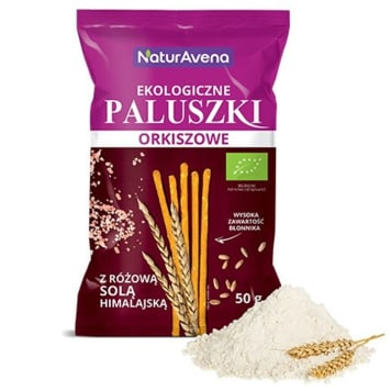 NATURAVENA Spelled fingers with Himalayan salt BIO 50g