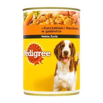 Peedigree Adult - Pokarm dla psów z kurczakiem i marchewką. Wspiera prawidłowy rozwój pupili.