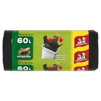 Worki na śmieci – Jan Niezbędny Easy-Pack to wytrzymały i solidny produkt.