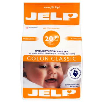 Proszek do prania Color Classic - Jelp. Hipoalergiczny i ekologiczny bez substancji drażniących.