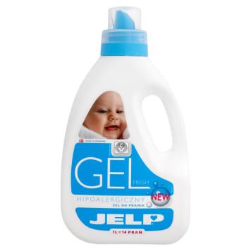 Żel do prania tkanin – Jelp. Bezpieczny środek dla skóry alergików oraz dzieci.