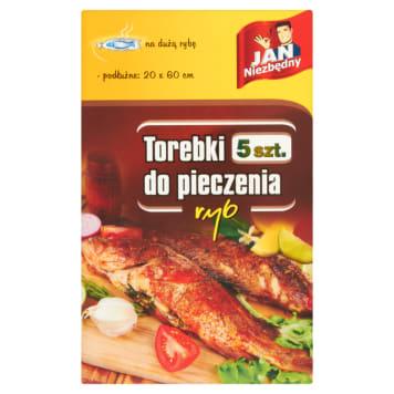 Jan Niezbędny - Torebki do pieczenia ryb. Doskonałe do przyrządzania niskokalorycznych potraw.