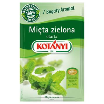 Zielona mięta - Kotanyi. Doskoanły pomysł na uzrozmaicenie potraw.