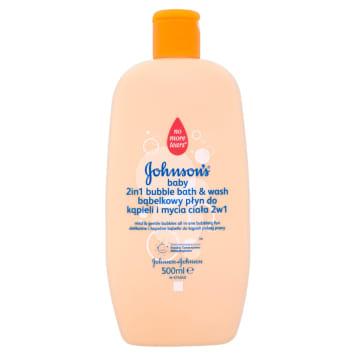 Płyn do kąpieli i mycia ciała 2w1 - Johnsons_@ Baby. Ochrona skóry dziecka.