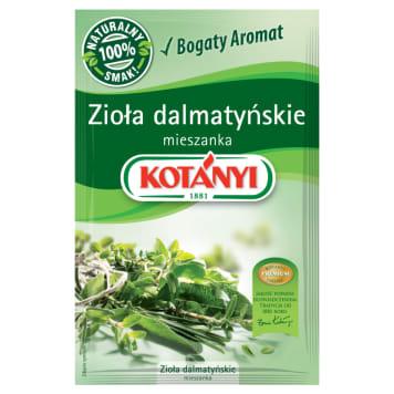 Zioła dalmatyńskie – Kotanyi to chorwacka kompozycja, doskonała do dań kuchni śródziemnomorskiej.