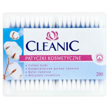 Patyczki kosmetyczne - Cleanic. Wysokiej jakości paryczki do każdej łazienki.