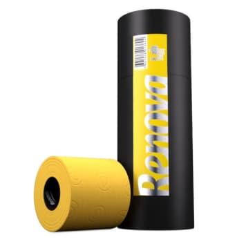 RENOVA Yellow Toilet Paper 3 Rolls (tube) 1pc