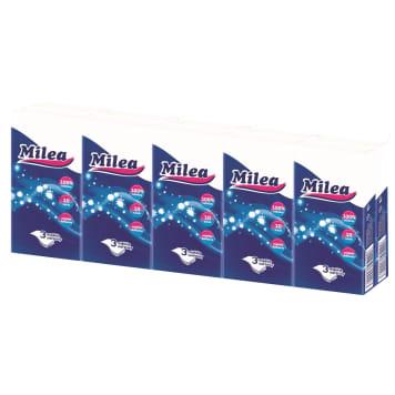 MILEA Chusteczki higieniczne 10x10szt - celulozowe, pomagają w zachowaniu higieny.