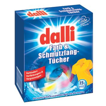 DALLI Washing tissues 15 pcs 1pc