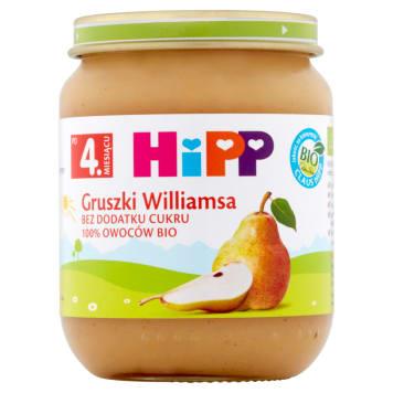 Hipp – Owoce Gruszki Williamsa po 4.miesącu -