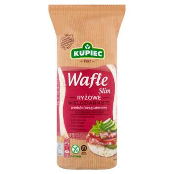 Wafle ryżowe - KUPIEC. Wypiekane z ziaren brązowego ryżu.