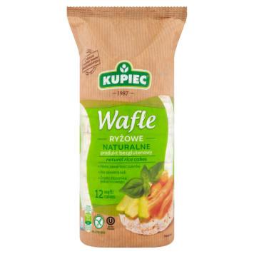 Wafle ryżowe naturalne – Kupiec. To smaczna i pożywna przekąska dla każdego.