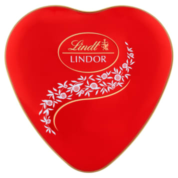 LINDT Lindor Heart Tin Pralines 50g