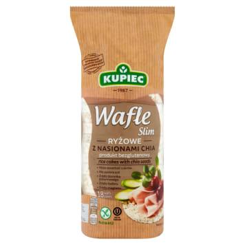 Kupiec - Wafle ryżowe z nasionami chia 90g. Prawdziwa bomba energrtyczna na każdy dzień.