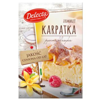 Ciasto Karpatka - DELECTA. Jedno z najpopularniejszych ciast w Polsce do ekspresowego wykonania.