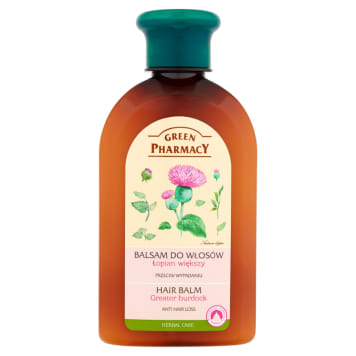 Balsam do włosów - Green Pharmacy. Odżywia i pielęgnuje włosy.