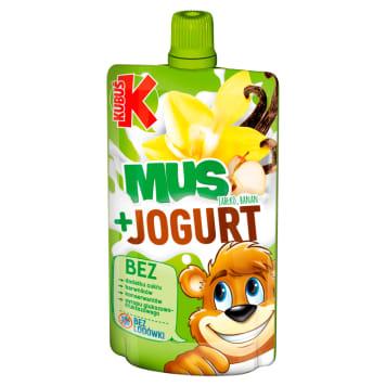 KUBUŚ Mus + Yogurt  apple banana 80g