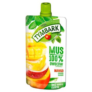 TYMBARK Mus 100% mango jabłko banan 120g