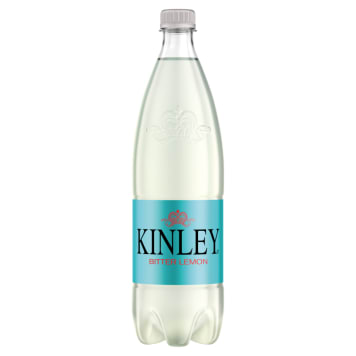 KINLEY Carbonated drink with a lemon flavor 1 l