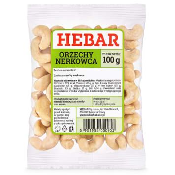 HEBAR Orzechy nerkowca 100g