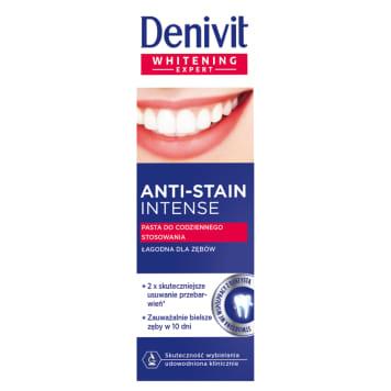 DENIVIT Anti-Stain Intense Whitening toothpaste for daily use 50ml