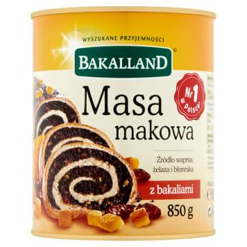 Bakalland - Masa makowa z bakaliami. Bez niej nie uda się żaden makowiec.