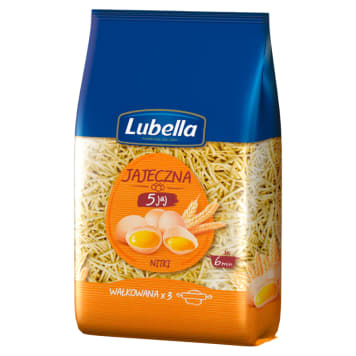 LUBELLA Jajeczna Pasta thread with 5 eggs 400g