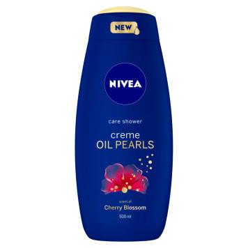 NIVEA creme OIL PEARLS Shower gel for cherries Cherry blossom 500ml