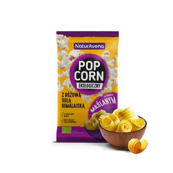 NATURAVENA Buttery popcorn with Himalayan salt 90g