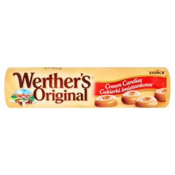 Tradycyjne cukierki śmietankowe Werther's Original to klasyczne twarde karmelki.